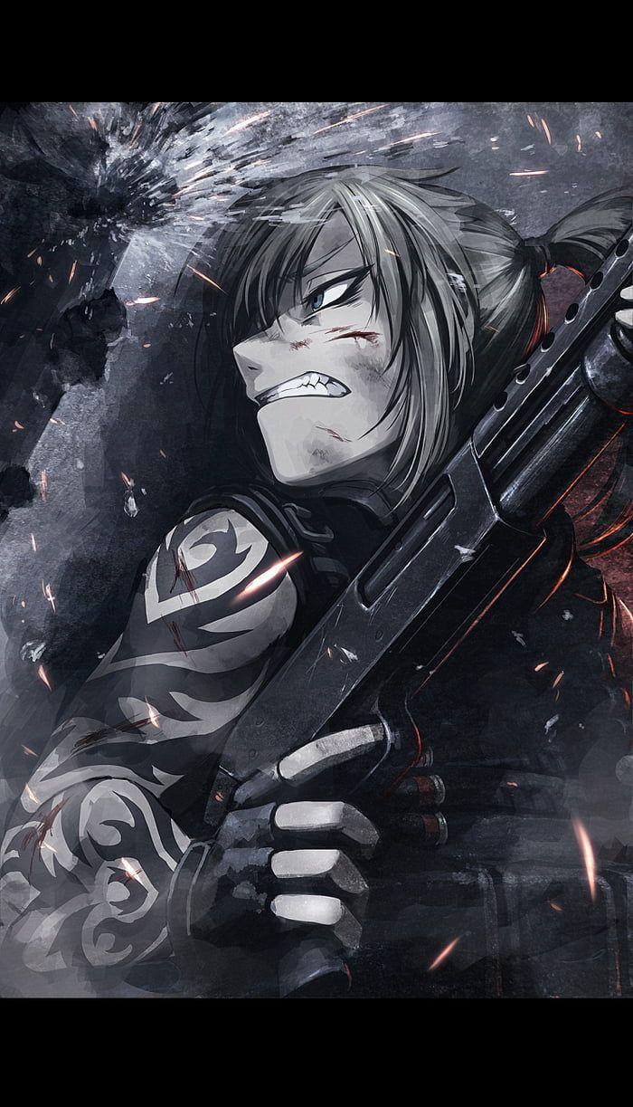 Take Cover Black Lagoon Anime Black Lagoon Anime Military