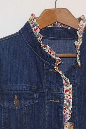 50 verschiedene Ideen von Jeansjacken Dekor