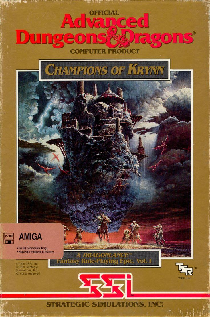 AD&D - Champions of Krynn (SSI, 1990)