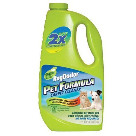 Rug Doctor Pet Formula Carpet Cleaner, 60 fl oz, Green