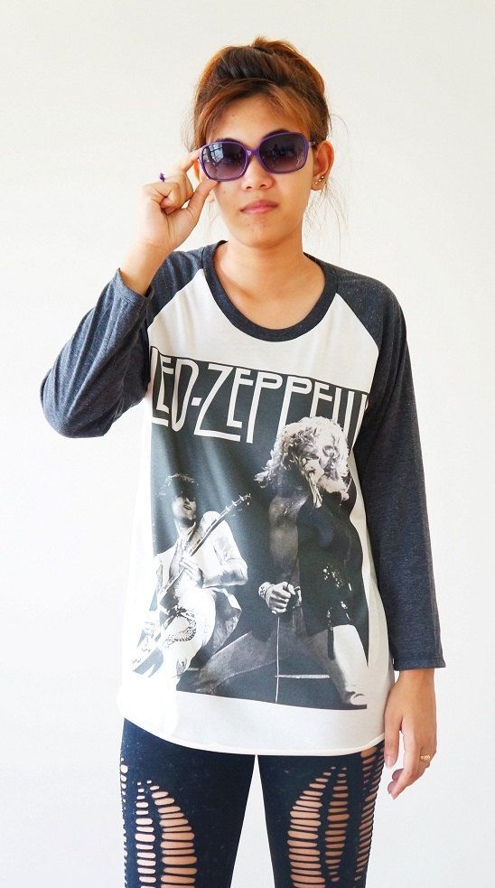 s m l led zeppelin shirts hard rock shirts heavy. Black Bedroom Furniture Sets. Home Design Ideas