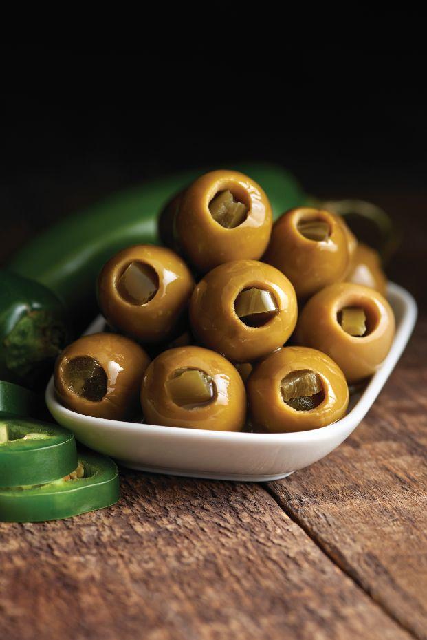 Green Olives Stuffed with Jalapeño - Castella Imports