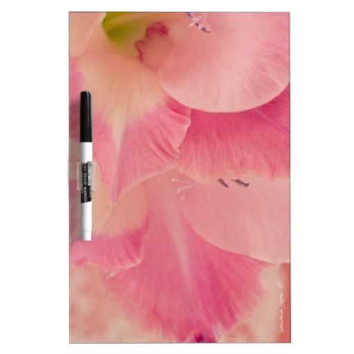 Gladiola Petals Dry-Erase Whiteboard