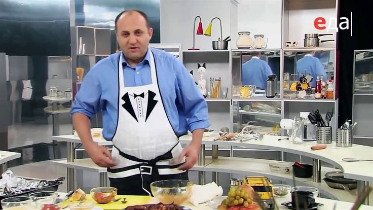 Авторский чесночный суп с сюрпризом / шеф-повар Илья Лазерсон / Обед без...