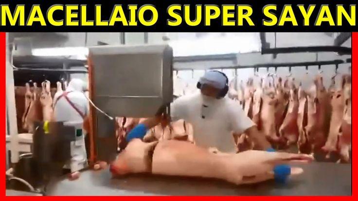 Impressionante:Macellaio Livello 10 Super Saiyan
