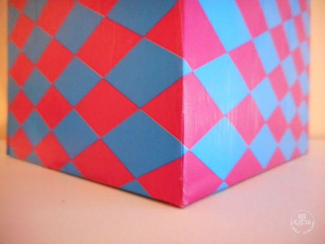 Nowele Domowe : Wiosenny pomysł na organizację. Niebiescy pomocnicy!  box  recycling  decor