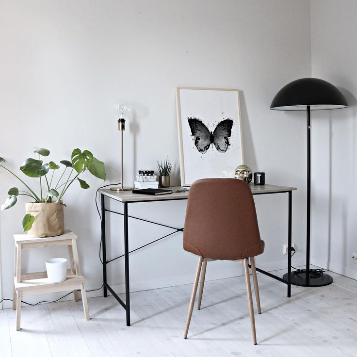 Sunday💭 _ #homeoffice #officespace #interior #poster #wallart #artprint #interiør #whiteliving #nordichome #nordicinterior