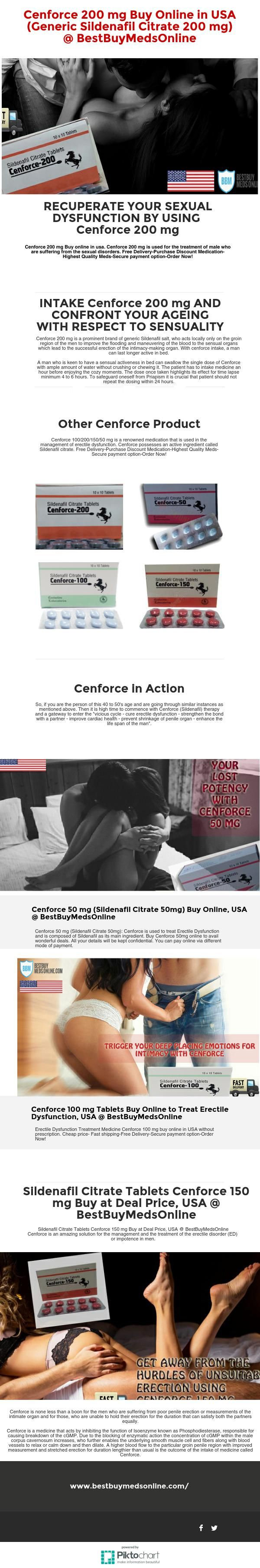Buy Cenforce 200/100/150/50 mg online from our reliable store at admirable rates. Cenforce (Generic Sildenafil citrate) is an awesome USFDA approved the medication for the treatment of erectile brokenness. Free Delivery, Purchase Discount Medication! Highest Quality Meds. Secure payment option. Order Now!