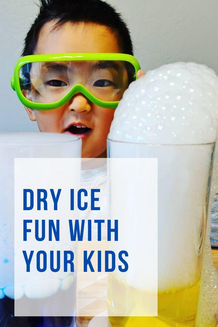 Dry Ice Fun With Your Kids in 2020 Dry ice, Ice safety, Ice