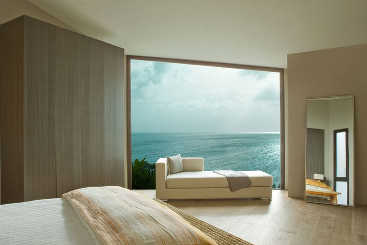 Window to the sea... this photo is from Villa Kishti in Anguilla.