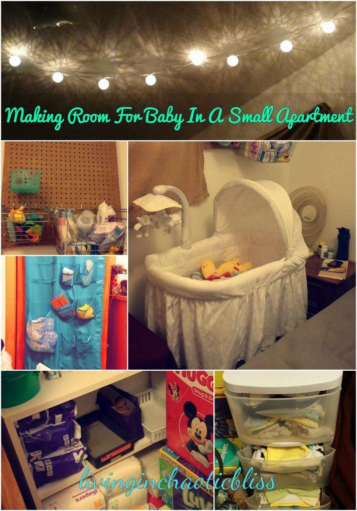 Making Room For Baby In A Small Apartment