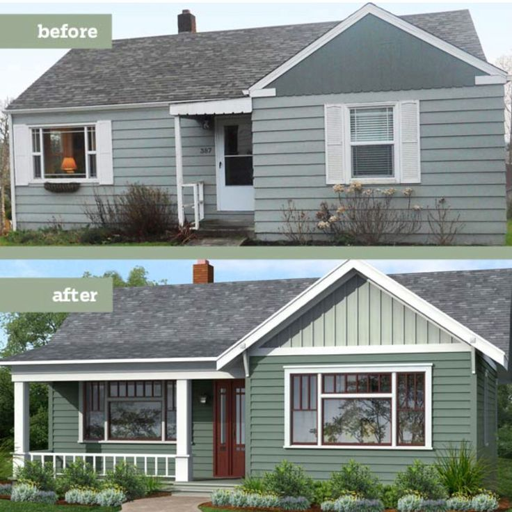 30 Best Before & After Exterior Renovations Images On