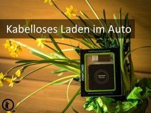 Kabelloses Laden im Auto ▶ Innovativ mit Qi-Standard ▶ Induktionsladen z.B. im SEAT LEON 5F ▶ Praktischer geht nicht!
