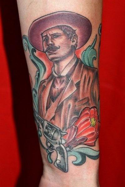 looks like james franco #tattoo