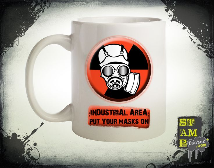 Put Your Masks On (Version 03) 2014 Collection - © stampfactor.com *MUG PREVIEW*