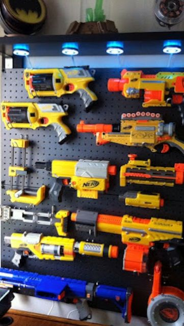 This Nerf Gun Display Case Is Both Awesome And Easy To Build | Gizmodo Australia