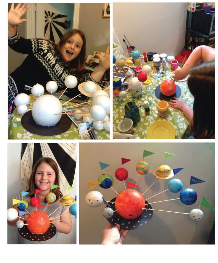 Build a Solar System! Fun Crafts!