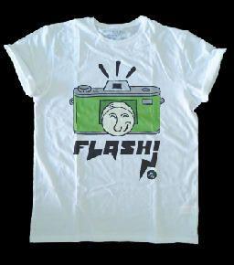 Camiseta cámara de juguete objetos antiguos diseño dibujo ilustración draw