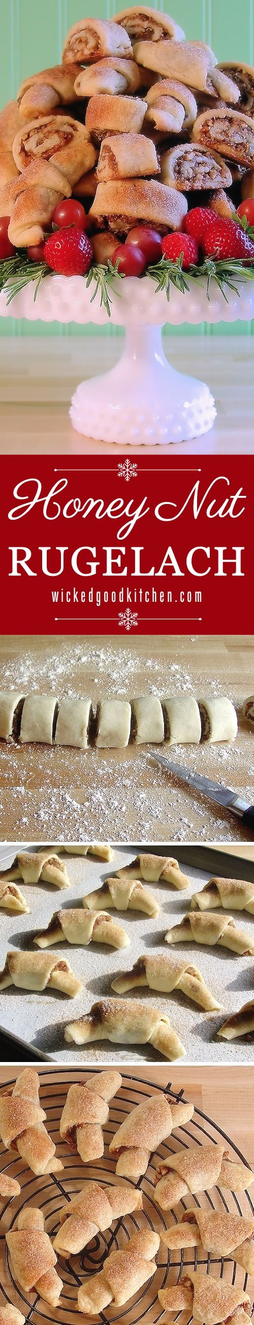 287 best Rugelach images on Pinterest | Rugelach recipe, Cookie ...