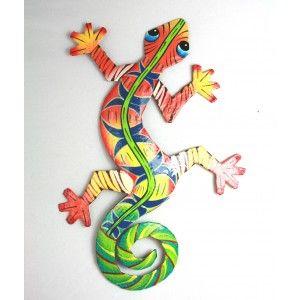 """Gecko, lagarto, lagartija. El nombre da lo mismo. Del porqué mi obsesión es largo de contar acá. Baste decir que tengo una colección que crece """"trepando"""" por una pared de mi terraza. La mayoría se vinieron conmigo desde República Dominicana o México, pero las hay en todo el Caribe."""