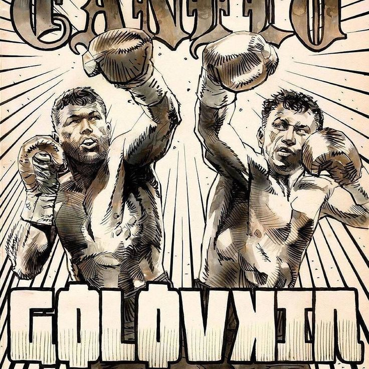Great Artwork by @urbanbarbarian for #CaneloGGG #art #comics #boxing #boxingday #boxeo #boxeomexicano #mexico #boxingfans #boxinglife #fight #fighters #artoftheday #photooftheday #mexicanboxing #mexicanstyle #CaneloGolovkin #canelo #ggg #gggboxing #kazakhstan #knockout #frontproof #frontproofmedia #supremacy #goldenboy #goldenboypromotions @canelo @gggboxing