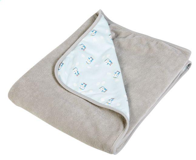 In het bedje, parkje, of op uitstap? Met dit veelzijdige, muntgroene deken is schattige Niyu altijd dicht bij je kleine spruit.