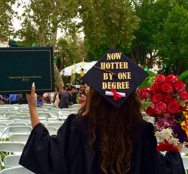 #graduation #hotter #degree #ideas #cap #now