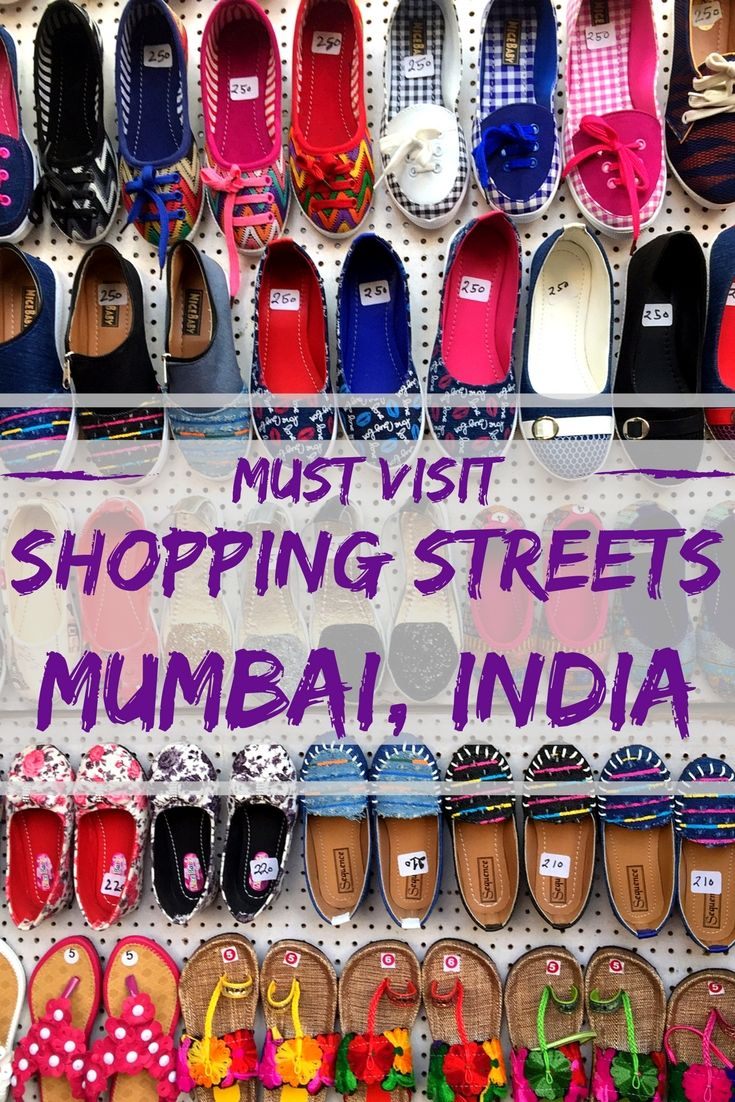 The shopping streets in Mumbai India offer everything and anything to buyers delight from traditional wear to western wear, accessories, jewelry, furniture, antiques, leather, home decor, jewelry and much more.