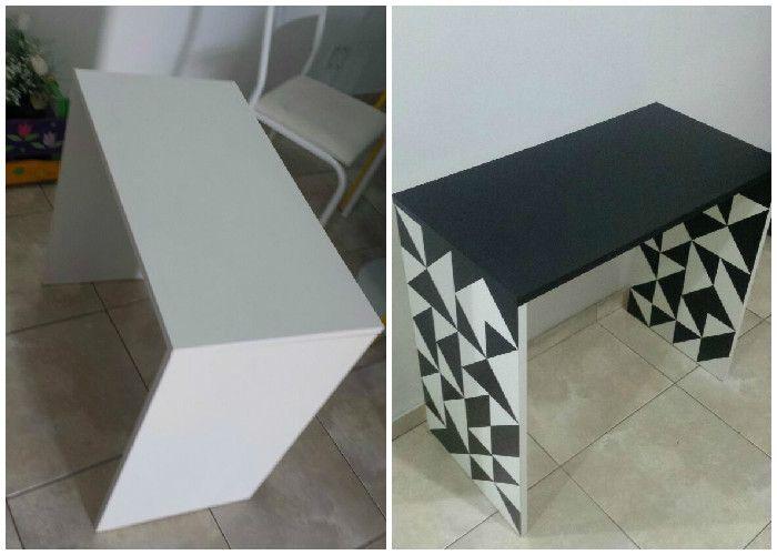 ZebraDelas - Blog de moda, beleza, decoração e DIY: Renovando móvel com papel contact