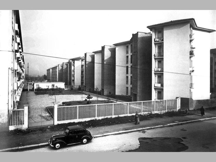 """Quartiere """"Mangiagalli"""", Franco Albini,  Ignazio Gardella, 1950, Milano"""