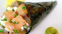 Minha paixão pela gastronomia japonesa aliada à minha inclinação aos desafios me motiva a cada vez mais descobrir e tentar as tão precisas técnicasculinárias orientais na minha cozinha. Temaki sig…