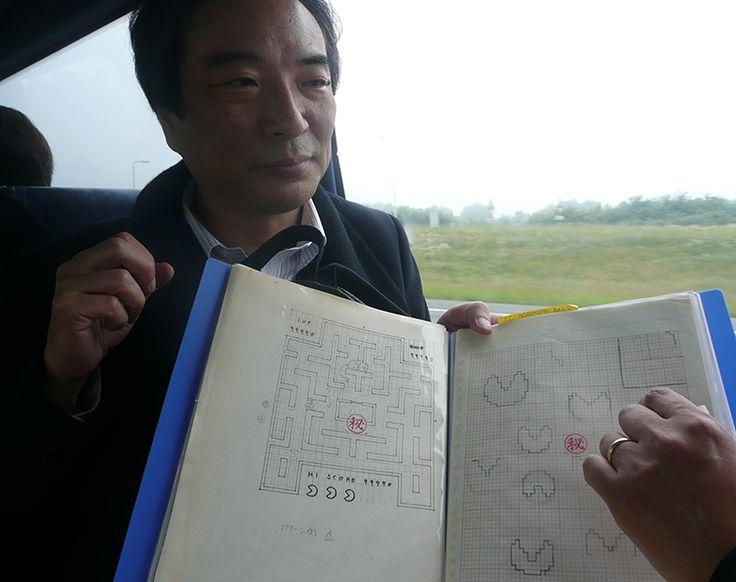 'Pac-Man' Creator Toru Iwatani Shares His Original Sketches for the Iconic Video Game