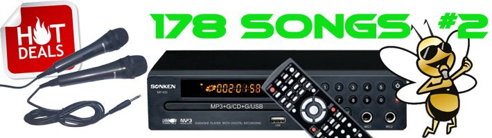 Sonken MP600 Hot Deal # 2 with 178 Songs Included!