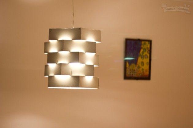 17 mejores ideas sobre como hacer una lampara en pinterest - Como hacer una lampara rustica ...