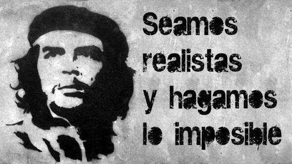 """De @subversivos_: """"Hay que endurecerse pero sin perder la ternura jamás"""" — Che Guevara http://twitter.com/subversivos_/status/436587008803098624/photo/1"""