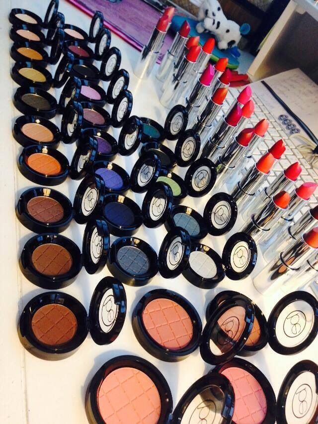 eyeshadows and lipsticks from BeautiControl