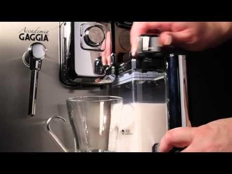 Video: Gaggia Accademia super automatic espresso machine overview. Buy on EspressoOutlet.net