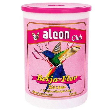 Alimento para Beija-Flor Alcon Club Néctar - Meuamigopet.com.br #asas #asa #animais #aves #passaros #meuamigopet