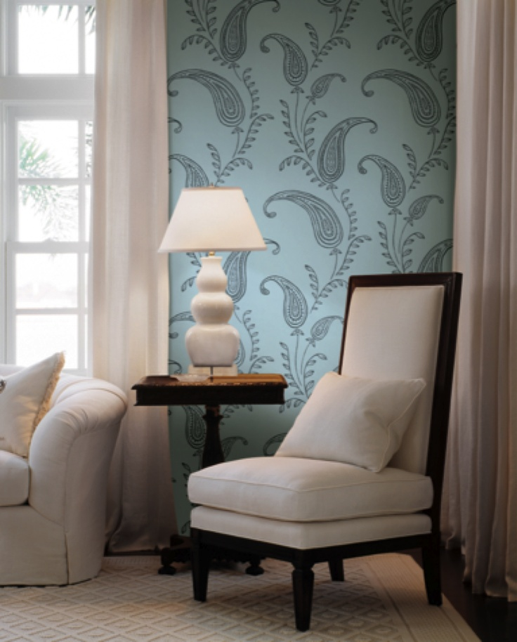 You Can Use Wallpaper In Any Space To Liven It Up And Show Off Your  Furniture