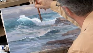 In this Artistsnetwork.TV workshop, Johannes Vloothuis proves that getting started with oils is easier than you think.Learn the advantages of oils, how to mix colors using the hands of a clock for foolproof color, and a variety of brushstrokes and painting techniques that you can apply to your own landscapes. Preview the video, download the materials list and more, at ArtistsNetwork.TV.