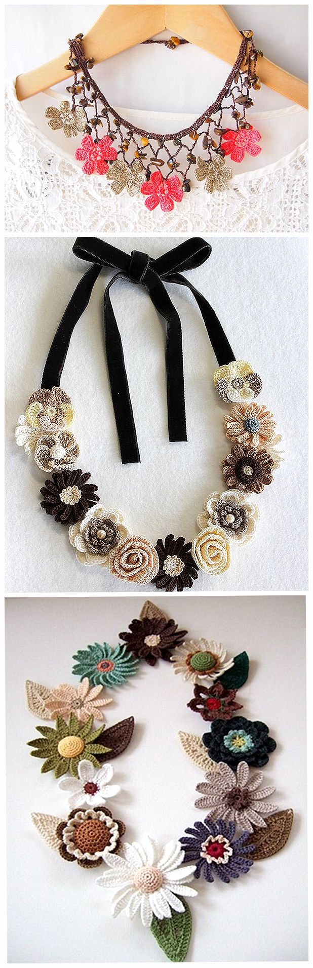 beautiful earrings.                  And here knit items included in the decoration completely different type and style of my ...
