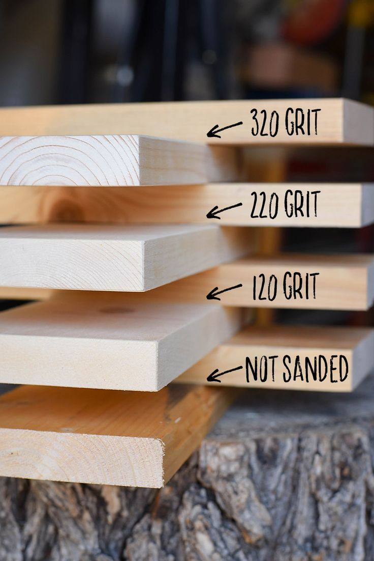 How To Sand Prep And Stain Wood