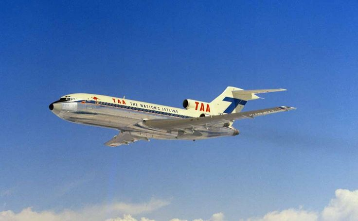 TAA's first Boeing 727-76 aircraft (VH-TJA)