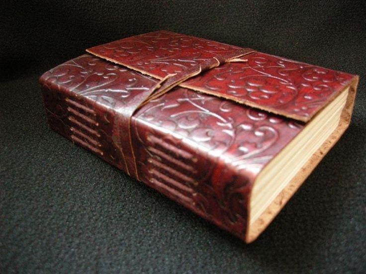 Paul-Francis Leren pocket dagboek Akeleibloem in reliëf 12x15cm [380] C
