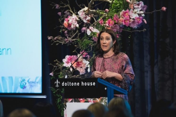 Vogue Australia's editor-in-chief Edwina McCann is named the most powerful woman in media by B&T