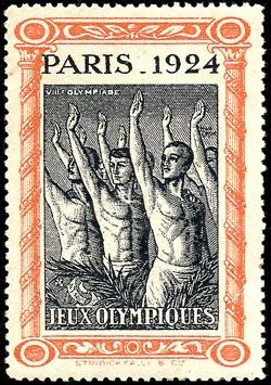 Paris -- Jeux Olympiques 1924