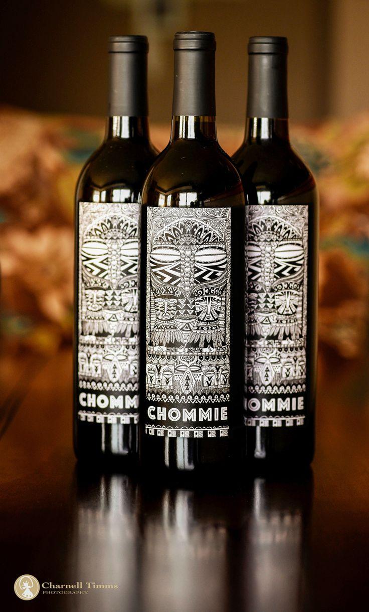 Howzit my Chommie wine label design by Anwar Davids