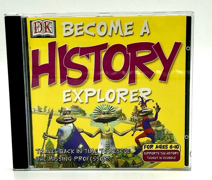 Become A History Explorer Pc Cd Rom Dorling Kindersley Knowledge Educational Vgc
