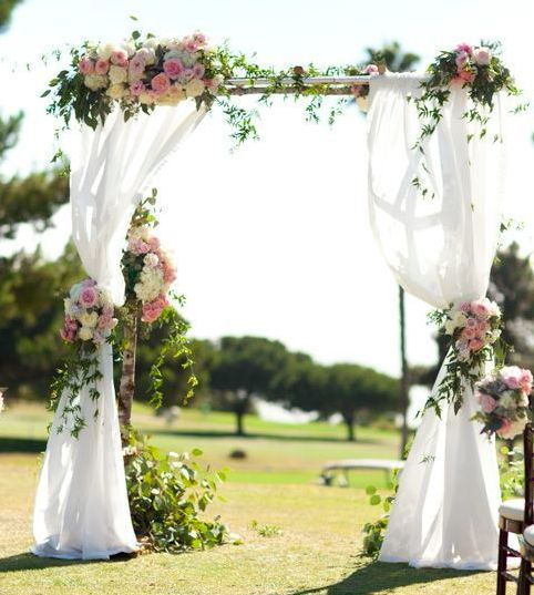 Outdoor Wedding Altars: Altares De Boda, Altares De Boda