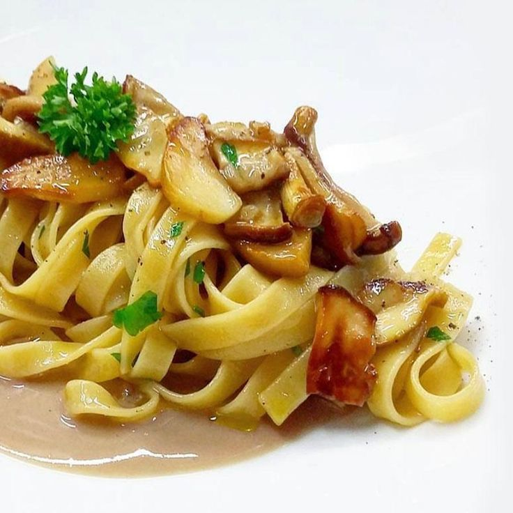 """🍝""""Tagliatelle"""" with porcini mushrooms! What you will eat for lunch?🍝...Thanks to: @cetaria_salvatore_avallone...👇Tag here a mushrooms lover👇#tagliatelle #pasta #pranzo #cena #funghi #porcini #mangiare #cibo #food #foodgram #instafood #bestfood #ricette #recipes #"""